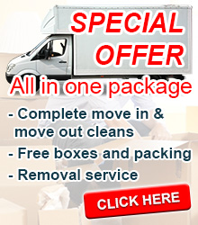 Cleaning & removals special offer